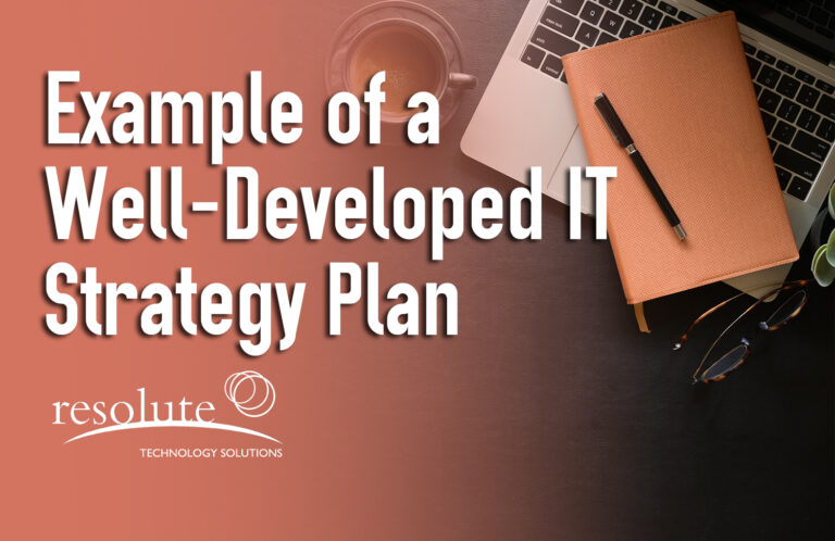 An Example of an IT Strategic Plan
