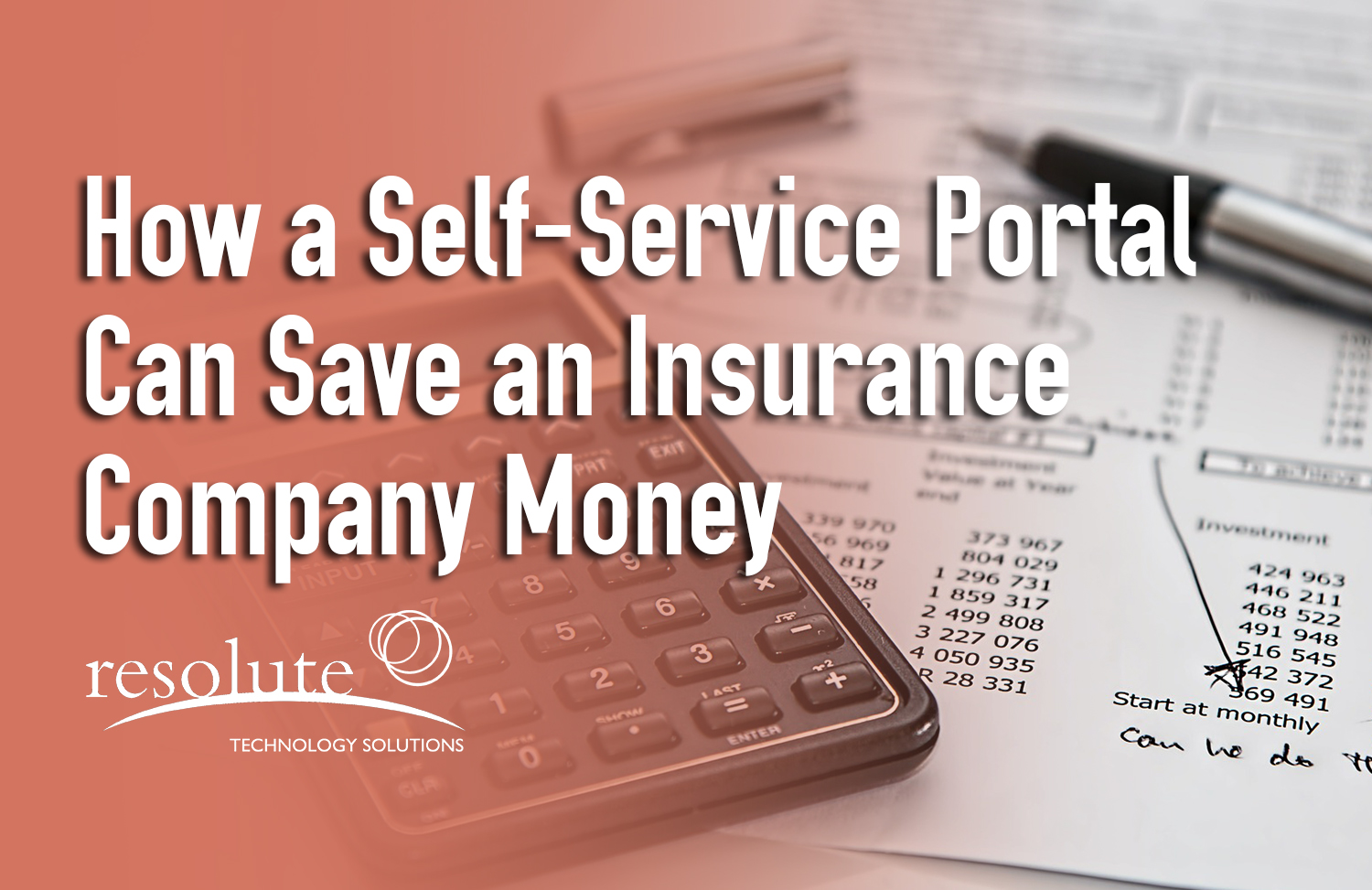 How a Customer Self-Service Portal Can Save an Insurance Company Money